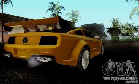 Ford Mustang GT para la visión correcta GTA San Andreas