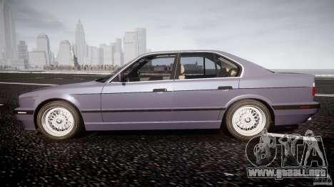 BMW 5 Series E34 540i 1994 v3.0 para GTA 4 left