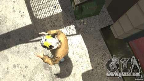Energy Drink Helmets para GTA 4 segundos de pantalla