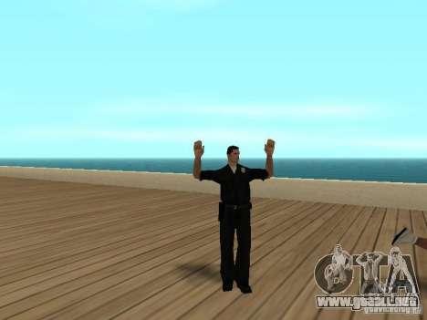Policías cobardes para GTA San Andreas tercera pantalla
