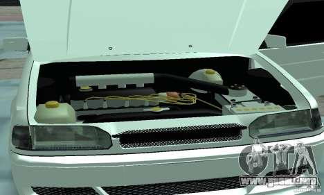 ВАЗ 2114 Tuning para visión interna GTA San Andreas