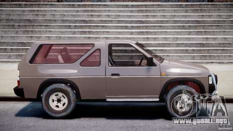 Nissan Terrano para GTA 4 vista interior