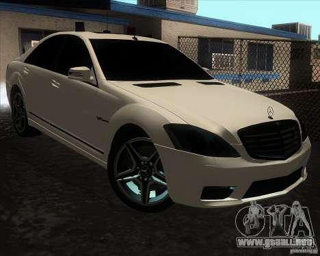 Mercedes-Benz S65 AMG W221 para GTA San Andreas
