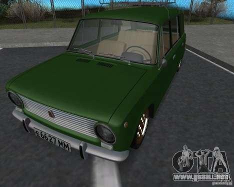 VAZ 2102 Florida para la visión correcta GTA San Andreas
