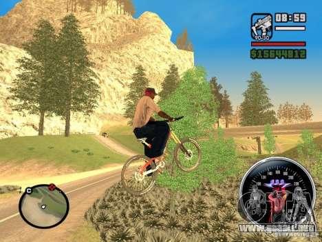 Speed Udo para GTA San Andreas segunda pantalla