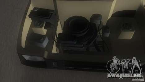 Oka VAZ 1111 para GTA Vice City vista desde abajo