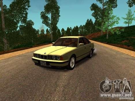 BMW 535 para GTA San Andreas left