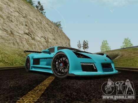 Gumpert Apollo S 2012 para la visión correcta GTA San Andreas