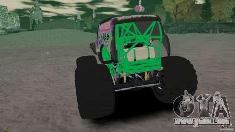 Grave digger para GTA 4 visión correcta