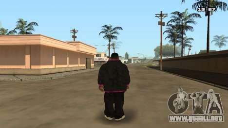 Skin Pack Ballas para GTA San Andreas sexta pantalla