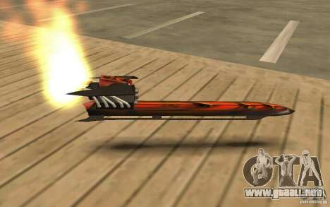 Hoverboard para GTA San Andreas left