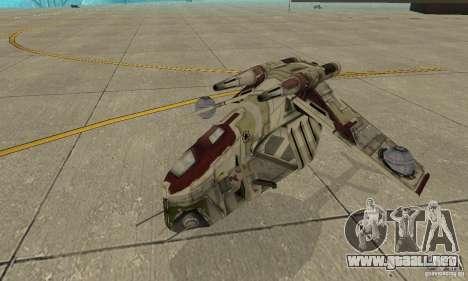Cañonera de la República de Star Wars para GTA San Andreas