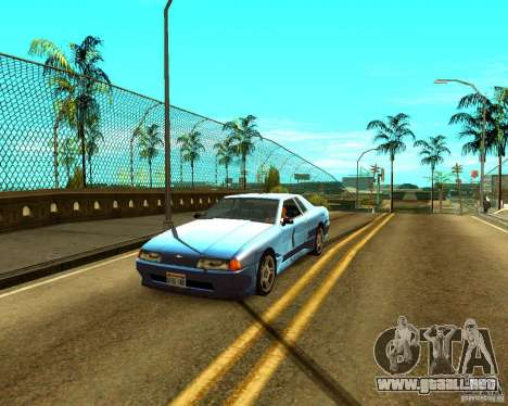 ENBSeries by Sashka911 v2 para GTA San Andreas sucesivamente de pantalla