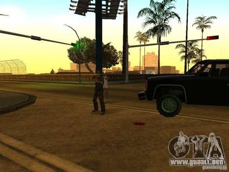 Policías camuflados para GTA San Andreas sucesivamente de pantalla