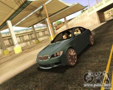 NFS The Run ENBSeries by Sankalol para GTA San Andreas séptima pantalla