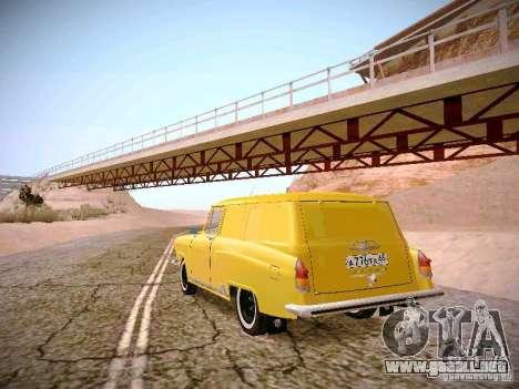 Van GAS 22B para GTA San Andreas vista posterior izquierda