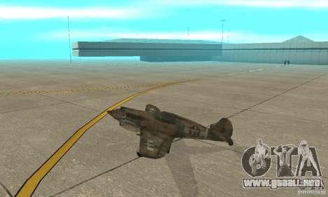 P-35 para GTA San Andreas vista posterior izquierda