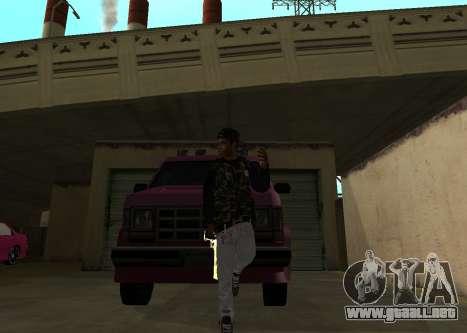 A$AP Rocky para GTA San Andreas segunda pantalla
