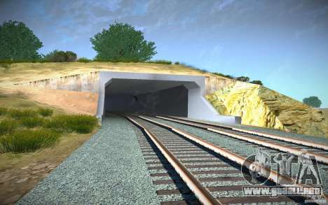 HD Red Bridge para GTA San Andreas séptima pantalla