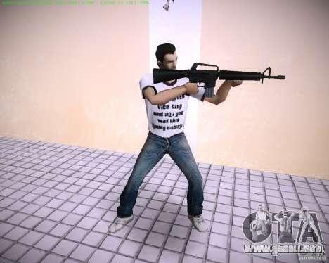 Nuevo M4 para GTA Vice City