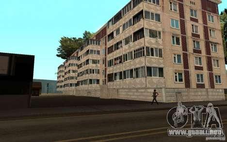 Un pequeño pueblo ruso en Grove Street para GTA San Andreas segunda pantalla
