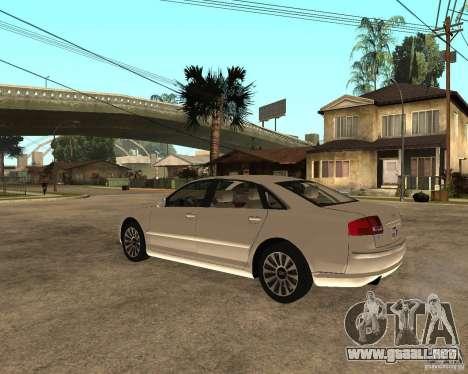 Audi A8 2003 para GTA San Andreas left