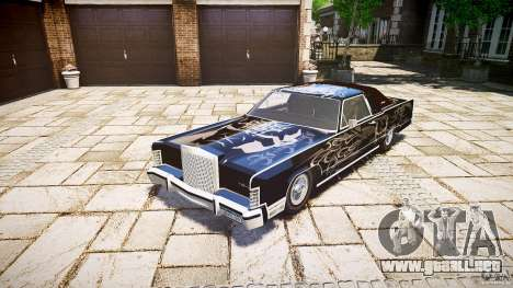 Lincoln Continental Town Coupe v1.0 1979 para GTA 4