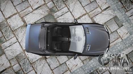 Mercedes Benz SL65 AMG para GTA 4 visión correcta