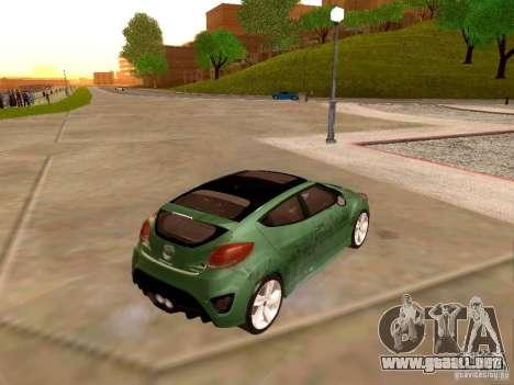 Hyundai Veloster Turbo v1.0 para vista lateral GTA San Andreas