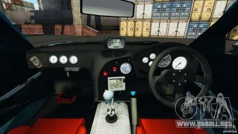 Mazda RX-7 RE-Amemiya v2 para GTA 4 vista hacia atrás