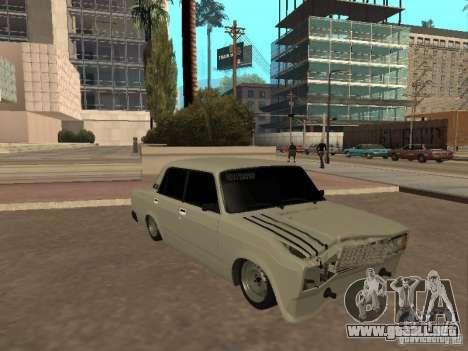 VAZ 2107 roto para GTA San Andreas