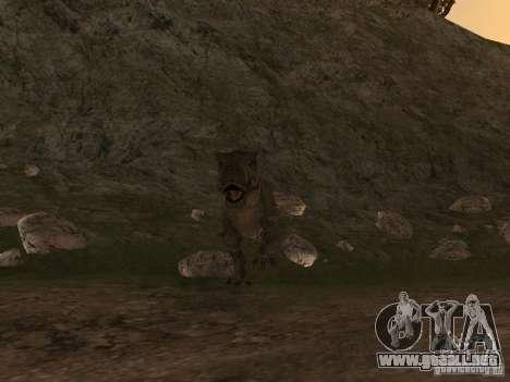 Dinosaurs Attack mod para GTA San Andreas segunda pantalla