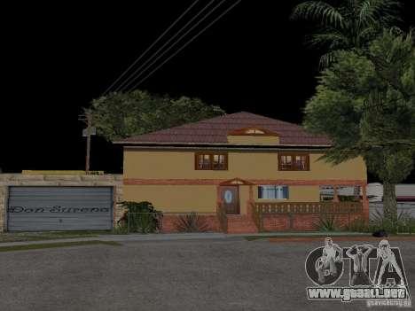 Nueva casa CJ para GTA San Andreas