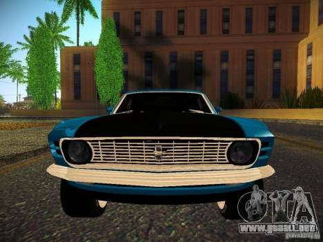 Ford Mustang Boss 429 1970 para la visión correcta GTA San Andreas