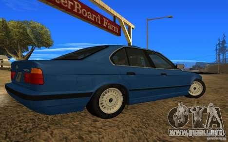 BMW 525 E34 V.3 para GTA San Andreas left