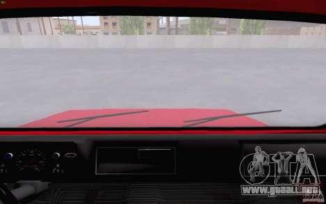 LuAZ 13021 grúa para GTA San Andreas vista hacia atrás