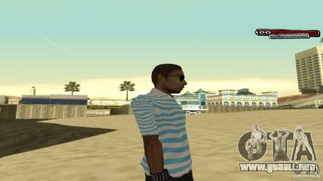 New Latinos para GTA San Andreas tercera pantalla