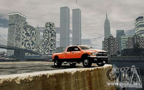 Dodge Ram 3500 Stock Final para GTA 4 vista lateral