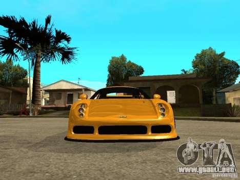 Noble M12 GTO Beta para la visión correcta GTA San Andreas