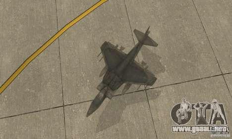 AV-8 Harrier para la visión correcta GTA San Andreas