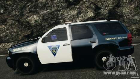 Chevrolet Tahoe Marked Unit [ELS] para GTA 4 vista superior