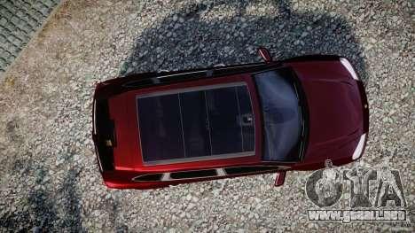 Porsche Cayenne Turbo S 2009 para GTA 4 visión correcta
