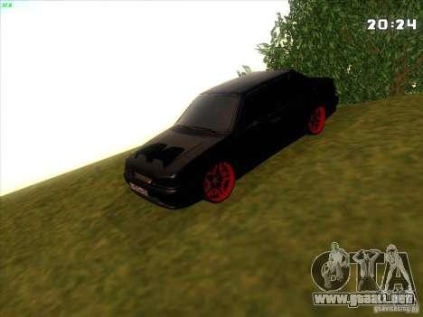 VAZ 2115 Devil Tuning para GTA San Andreas vista hacia atrás