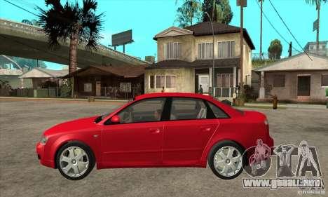 Audi S4 2004 para GTA San Andreas left