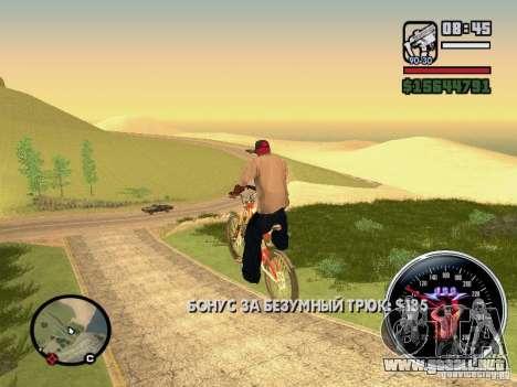 Speed Udo para GTA San Andreas sexta pantalla