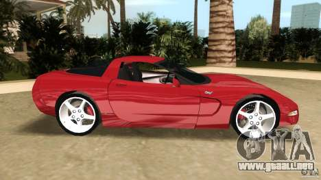 Chevrolet Corvette Z05 para GTA Vice City left