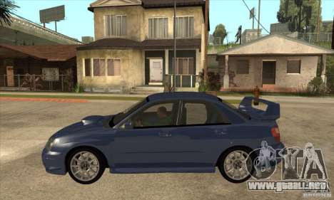 Subaru Impreza WRX STi - Stock para GTA San Andreas left