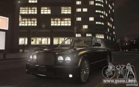 Bentley Arnage T v 2.0 para GTA 4 visión correcta