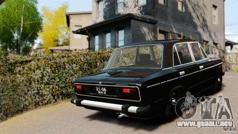 VAZ-2106 para GTA 4 Vista posterior izquierda