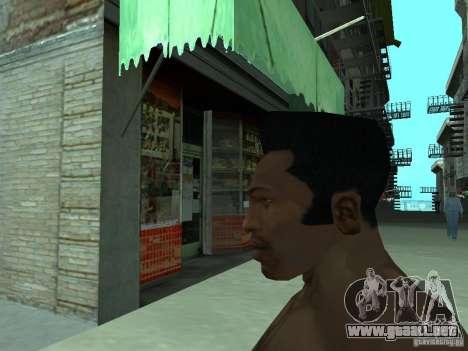 LA NUEVA CARA DE CJ para GTA San Andreas sexta pantalla